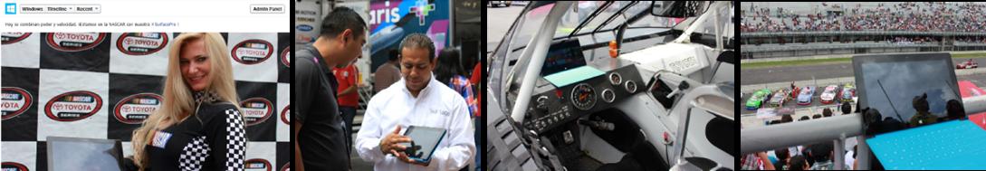 Surface Pro NASCAR