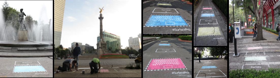 Surface Pro StreetArt
